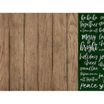 Kaisercraft - Peace and Joy Collection - Christmas - 12 x 12 Double Sided Paper - Delight