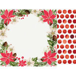 Kaisercraft - Peace and Joy Collection - Christmas - 12 x 12 Double Sided Paper - Festivity