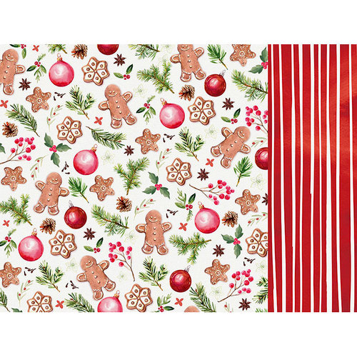 Kaisercraft - Peace and Joy Collection - Christmas - 12 x 12 Double Sided Paper - Gladness