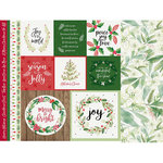 Kaisercraft - Peace and Joy Collection - Christmas - 12 x 12 Double Sided Paper - Merry