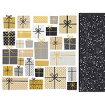 Kaisercraft - First Noel Collection - Christmas - 12 x 12 Double Sided Paper with Foil Accents - Wrapped