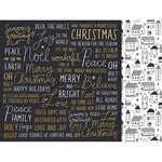 Kaisercraft - First Noel Collection - Christmas - 12 x 12 Double Sided Paper with Foil Accents - Wonderful