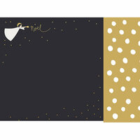 Kaisercraft - First Noel Collection - Christmas - 12 x 12 Double Sided Paper with Foil Accents - Noel