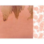 Kaisercraft - Peachy Collection - 12 x 12 Double Sided Paper - Burnt Sienna