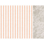 Kaisercraft - Peachy Collection - 12 x 12 Double Sided Paper - Apricot