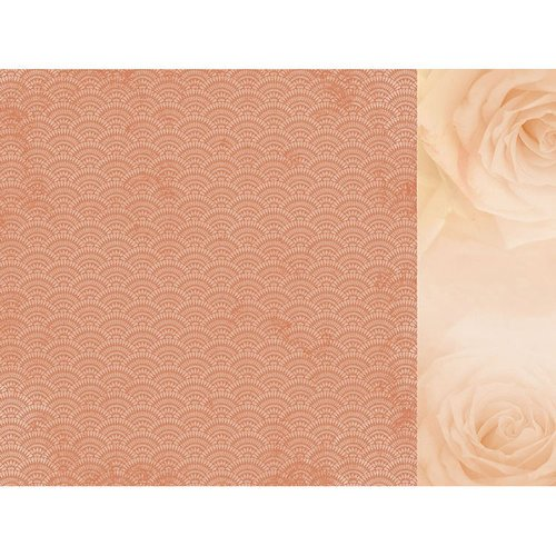 Kaisercraft - Peachy Collection - 12 x 12 Double Sided Paper - Golden
