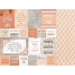 Kaisercraft - Peachy Collection - 12 x 12 Double Sided Paper - Honey Dew
