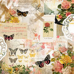 Kaisercraft - Scrap Studio Collection - 12 x 12 Double Sided Paper - Expressions