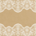 Kaisercraft - Everlasting Collection - 12 x 12 Double Sided Paper - One and Only