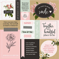 Kaisercraft - Everlasting Collection - 12 x 12 Double Sided Paper - Love You