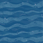 Kaisercraft - Deep Sea Collection - 12 x 12 Double Sided Paper - Deep Sea Dive