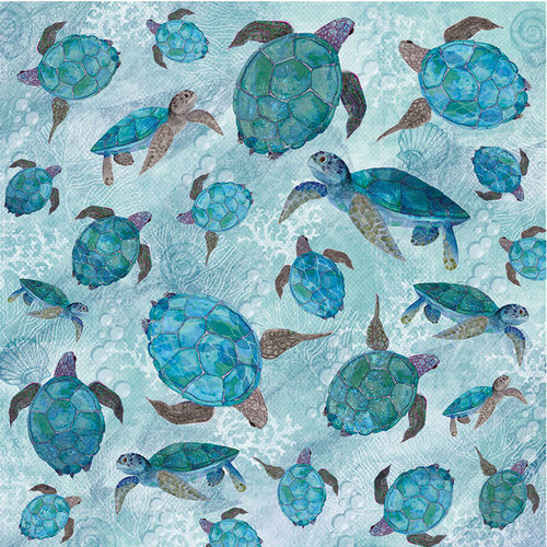 Kaisercraft - Deep Sea Collection - 12 x 12 Double Sided Paper - Snorkel