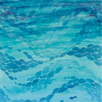 Kaisercraft - Deep Sea Collection - 12 x 12 Double Sided Paper - Deep Blue