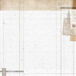 Kaisercraft - Whisper Collection - 12 x 12 Double Sided Paper - Raw