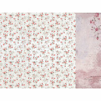 Kaisercraft - Rosabella Collection - 12 x 12 Double Sided Paper - Darling Flush