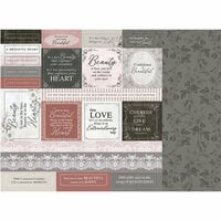 Kaisercraft - Rosabella Collection - 12 x 12 Double Sided Paper - Angelic