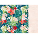 Kaisercraft - Paradise Found Collection - 12 x 12 Double Sided Paper - Tropic Vibes