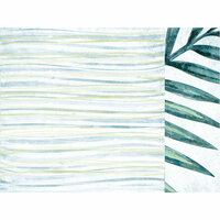 Kaisercraft - Paradise Found Collection - 12 x 12 Double Sided Paper - Ocean Air