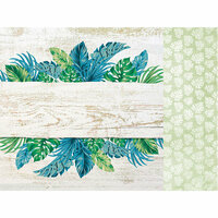 Kaisercraft - Paradise Found Collection - 12 x 12 Double Sided Paper - Balmy Nights
