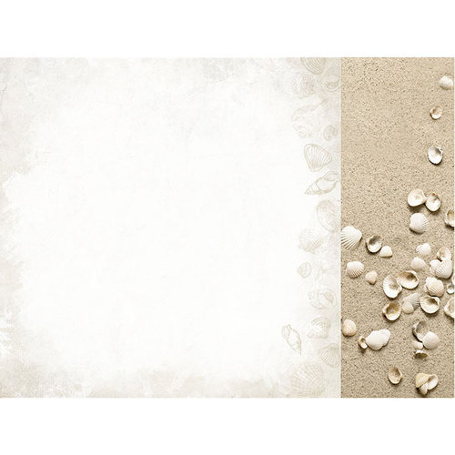 Kaisercraft - Paradise Found Collection - 12 x 12 Double Sided Paper - Salt Water