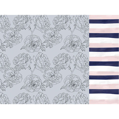 Kaisercraft - Breathe Collection - 12 x 12 Double Sided Paper - Blue Blush