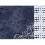 Kaisercraft - Breathe Collection - 12 x 12 Double Sided Paper - Navy Night