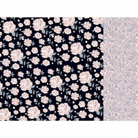 Kaisercraft - Breathe Collection - 12 x 12 Double Sided Paper - Floral Twilight