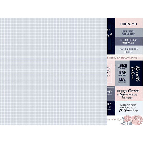 Kaisercraft - Breathe Collection - 12 x 12 Double Sided Paper - Clear Skies