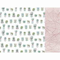 Kaisercraft - Greenhouse Collection - 12 x 12 Double Sided Paper - Aloe