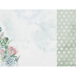 Kaisercraft - Greenhouse Collection - 12 x 12 Double Sided Paper - Jade Plant
