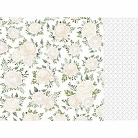 Kaisercraft - Two Souls Collection - 12 x 12 Double Sided Paper - Bridal Bouquet