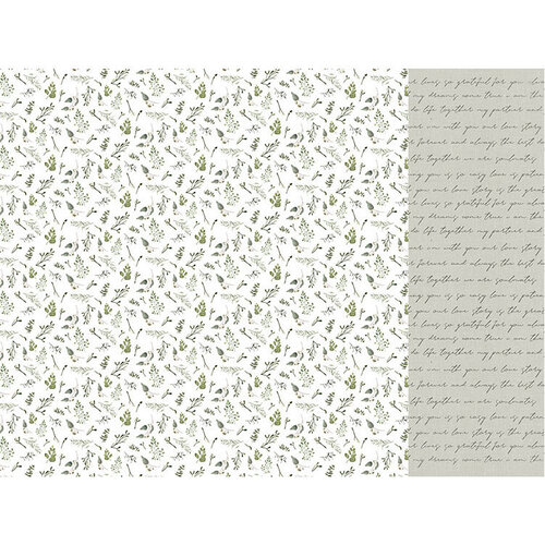 Kaisercraft - Two Souls Collection - 12 x 12 Double Sided Paper - Leafy