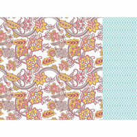Kaisercraft - Paisley Days Collection - 12 x 12 Double Sided Paper - Gypsy