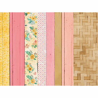 Kaisercraft - Paisley Days Collection - 12 x 12 Double Sided Paper - Smiles