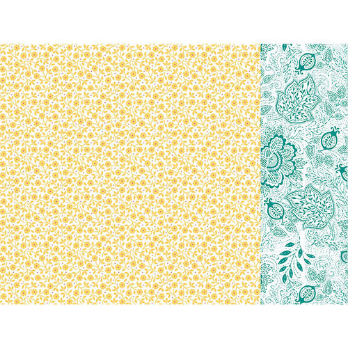 Kaisercraft - Paisley Days Collection - 12 x 12 Double Sided Paper - Boho