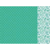 Kaisercraft - Paisley Days Collection - 12 x 12 Double Sided Paper - Retro