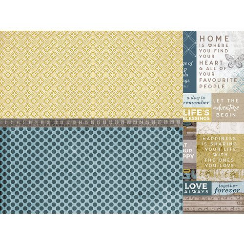 Kaisercraft - Antiquities Collection - 12 x 12 Double Sided Paper - Beloved