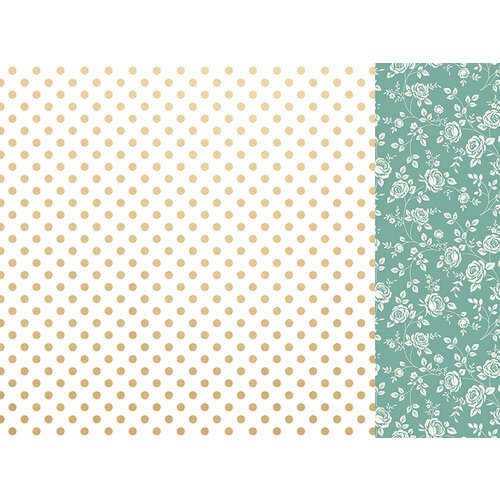 Kaisercraft - With Love Collection - 12 x 12 Double Sided Paper - Someone Special with Foil Accents