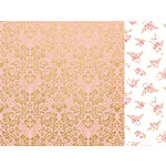 Kaisercraft - With Love Collection - 12 x 12 Double Sided Paper - A Note to Say