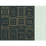 Kaisercraft - With Love Collection - 12 x 12 Double Sided Paper - Just Because