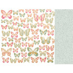 Kaisercraft - With Love Collection - 12 x 12 Double Sided Paper - All My Love