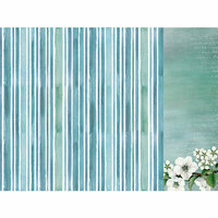 Kaisercraft - Morning Dew Collection - 12 x 12 Double Sided Paper - Tranquil