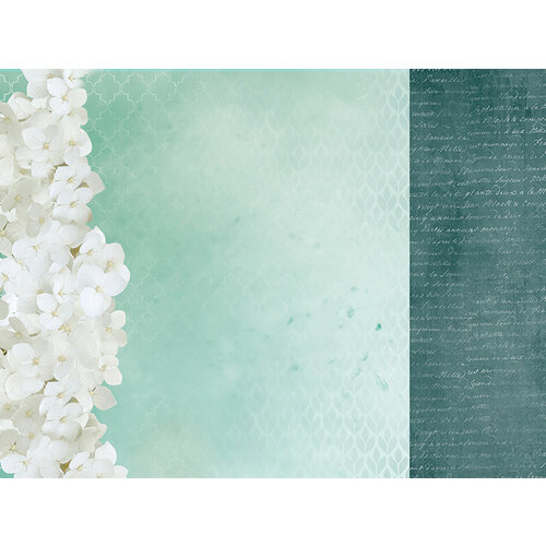 Kaisercraft - Morning Dew Collection - 12 x 12 Double Sided Paper - Exhale