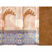 Kaisercraft - Journey Collection - 12 x 12 Double Sided Paper - Traveler