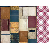 Kaisercraft - Journey Collection - 12 x 12 Double Sided Paper - Roamer