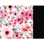 Kaisercraft - Magenta Collection - 12 x 12 Double Sided Paper - Fuchsia