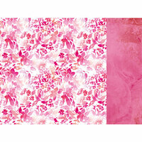 Kaisercraft - Magenta Collection - 12 x 12 Double Sided Paper - Flamingo