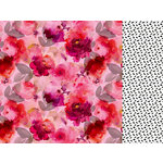 Kaisercraft - Magenta Collection - 12 x 12 Double Sided Paper - Pomegranate