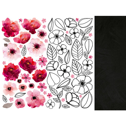 Kaisercraft - Magenta Collection - 12 x 12 Double Sided Paper - Pink