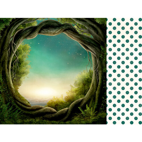 Kaisercraft - Enchanted Collection - 12 x 12 Double Sided Paper - Whimsy